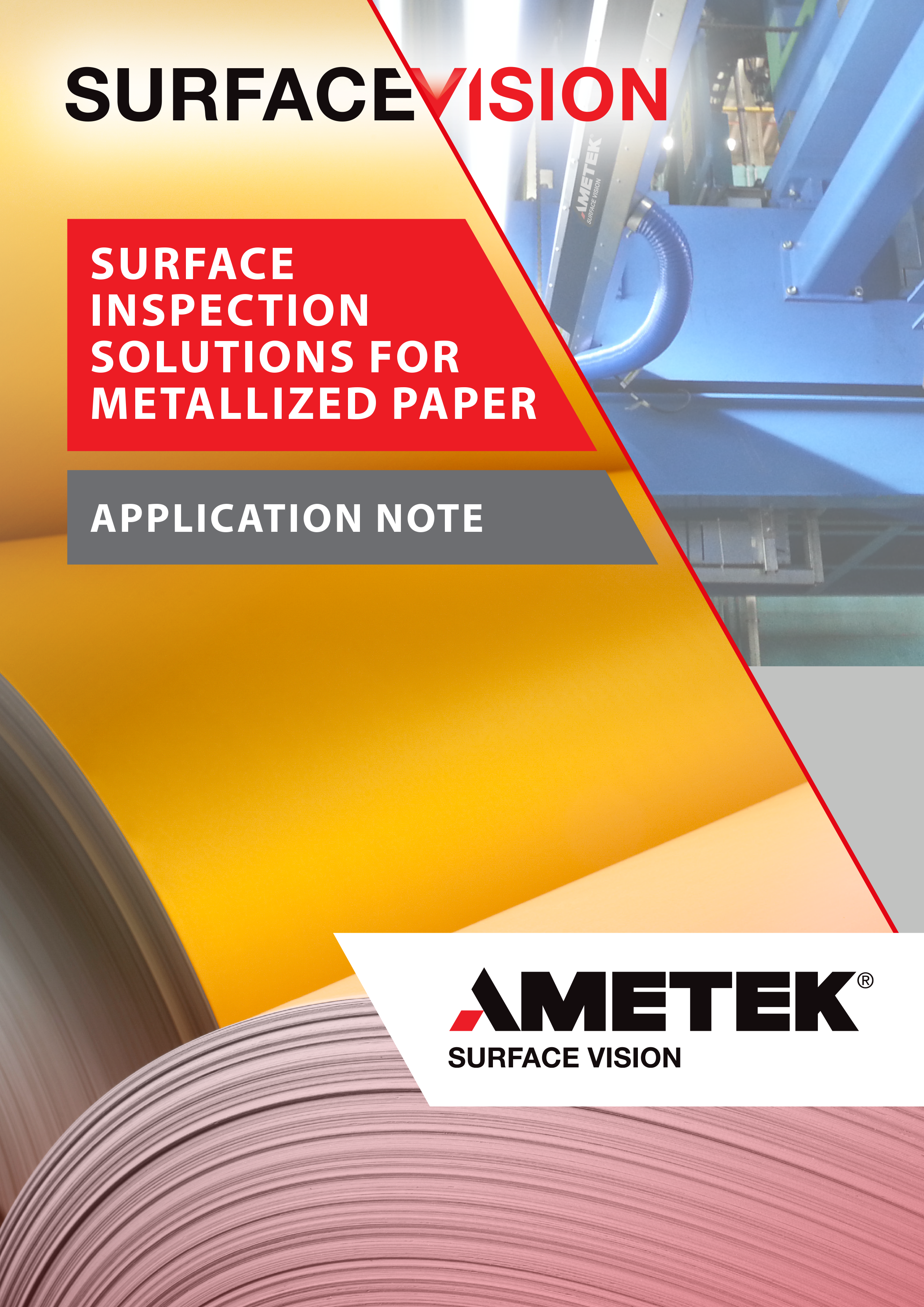Surface Inspection Solutions for Metallized Paper - Application Note (EN)