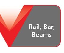 Steel Rail Bar Beams