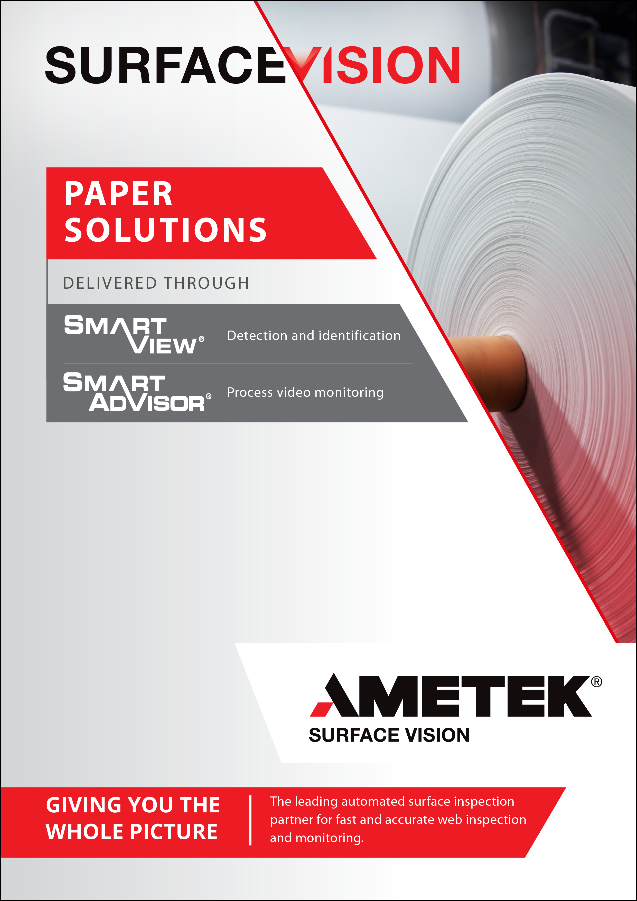 AMETEK Surface Vision - Paper Solutions Brochure