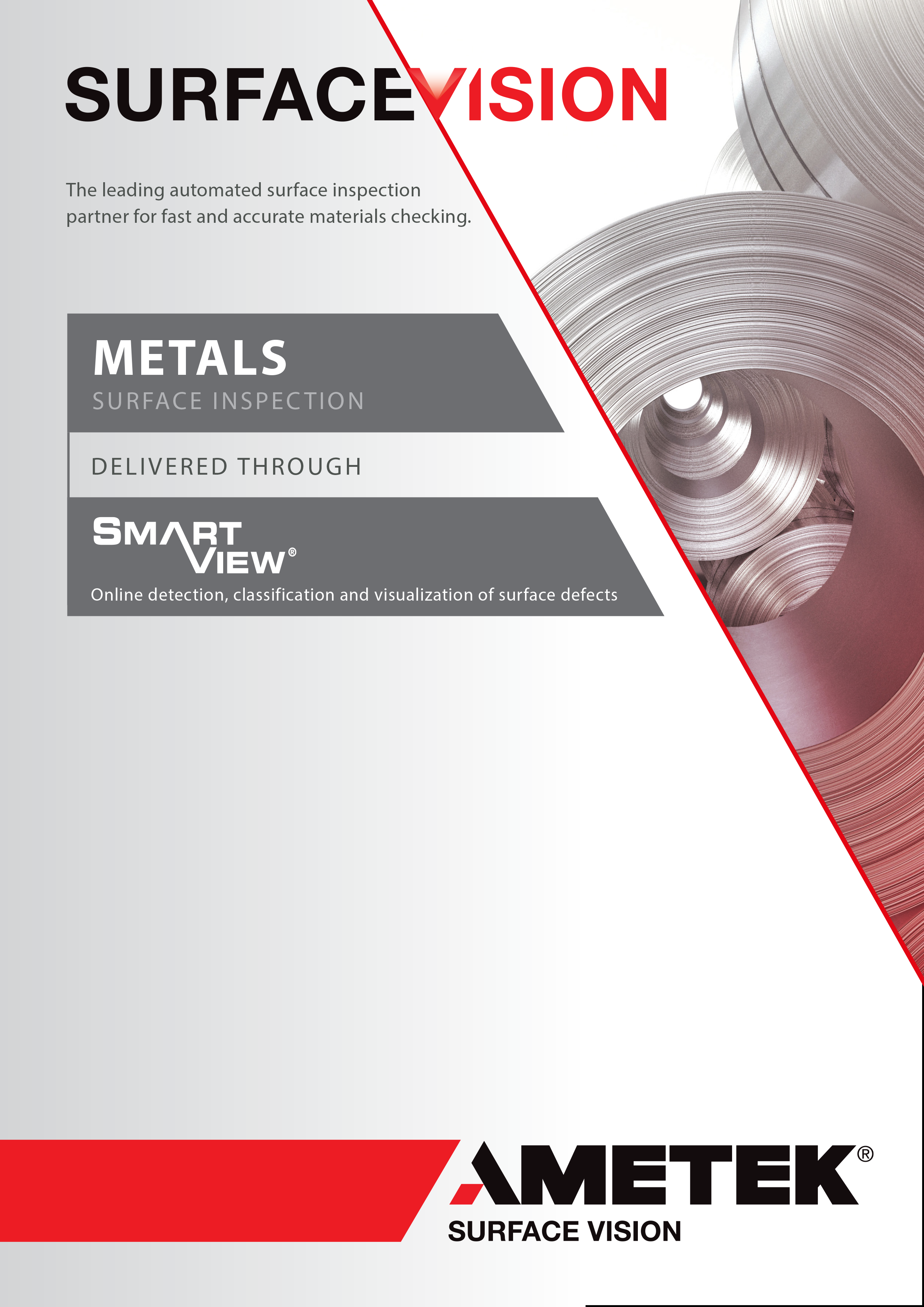 AMETEK Surface Vision Metals Brochure EN